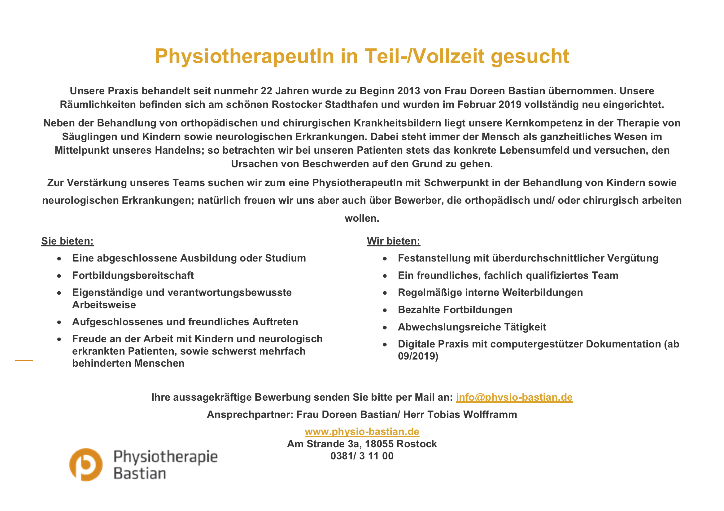 Physiotherapie Rostock